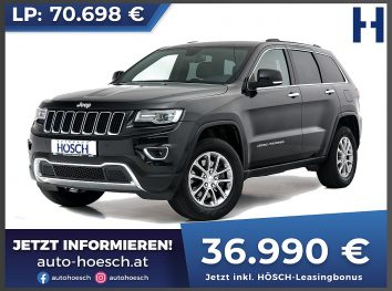 Jeep Grand Cherokee 3,0 V6 MultiJet II 4WD Limited Aut. bei Autohaus Hösch GmbH in