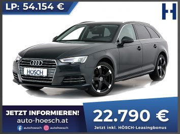 Audi A4 Avant 2.0 TDI Sport bei Autohaus Hösch GmbH in