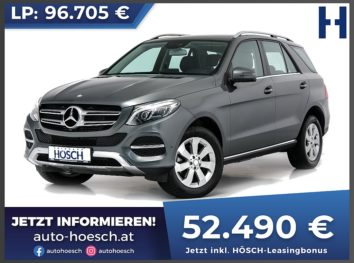 Mercedes-Benz GLE 350d 4Matic AMG-Line Aut. bei Autohaus Hösch GmbH in