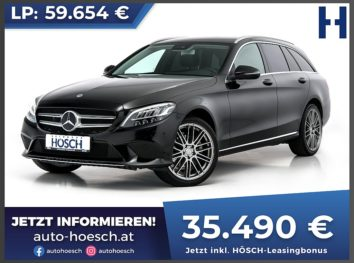 Mercedes-Benz C 220d T Avantgarde 4MATIC Aut. bei Autohaus Hösch GmbH in