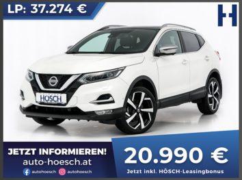 Nissan Qashqai 1,6 DCI  Tekna+ bei Autohaus Hösch GmbH in