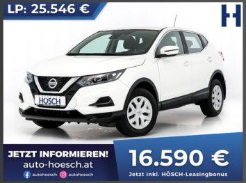 Nissan Qashqai 1.5 DCI Visia bei Autohaus Hösch GmbH in