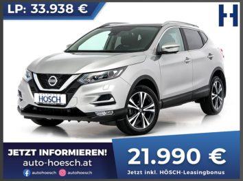 Nissan Qashqai 1,5 DCI N-Connecta Aut. bei Autohaus Hösch GmbH in