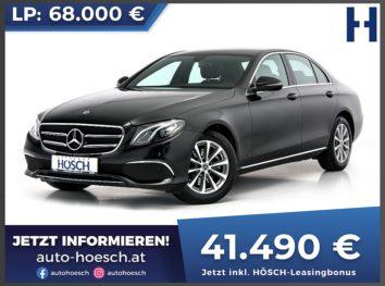 Mercedes-Benz E 220d 4Matic Avantgarde Aut. bei Autohaus Hösch GmbH in
