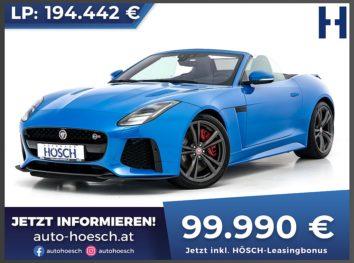 Jaguar F-Type SVR V8 Cabrio AWD Aut. bei Autohaus Hösch GmbH in