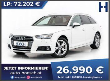 Audi A4 Avant 2,0 TDI quattro Sport Aut. bei Autohaus Hösch GmbH in