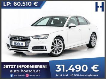 Audi A4 40 TDI quattro Sport Aut. bei Autohaus Hösch GmbH in