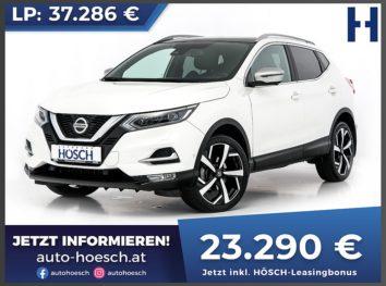 Nissan Qashqai 1,5 DCI  Tekna+ !! VOLL !! bei Autohaus Hösch GmbH in
