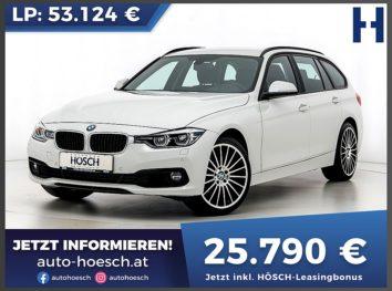 BMW 318d Touring Advantage Aut bei Autohaus Hösch GmbH in